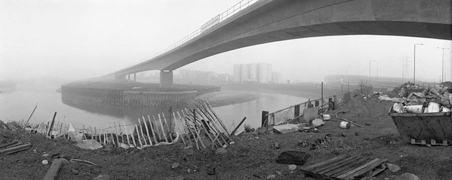 DLR at Bow Creek, © 1992 Peter Marshall